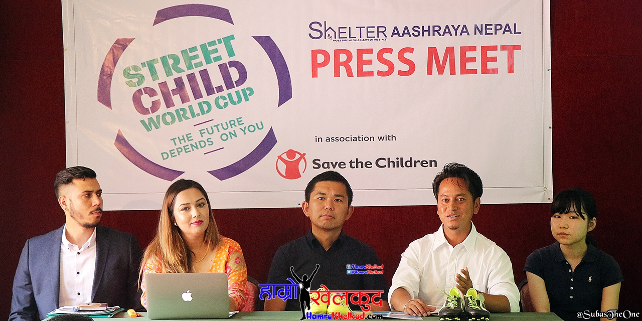Nepal to take part in the Street Child Football World Cup