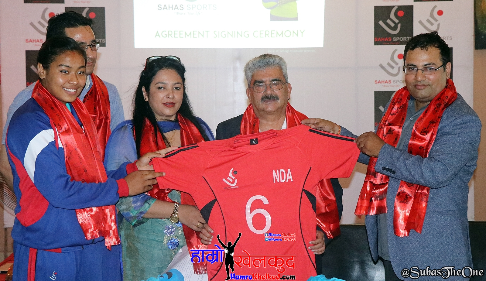 Volleyball player Pratibha appointed brand ambassador of Sahas Sports