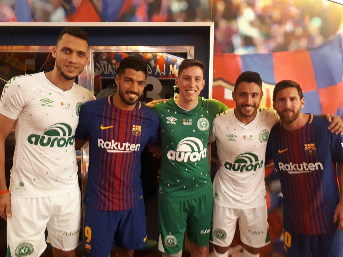 Barcelona wins Chapecoense 5-0