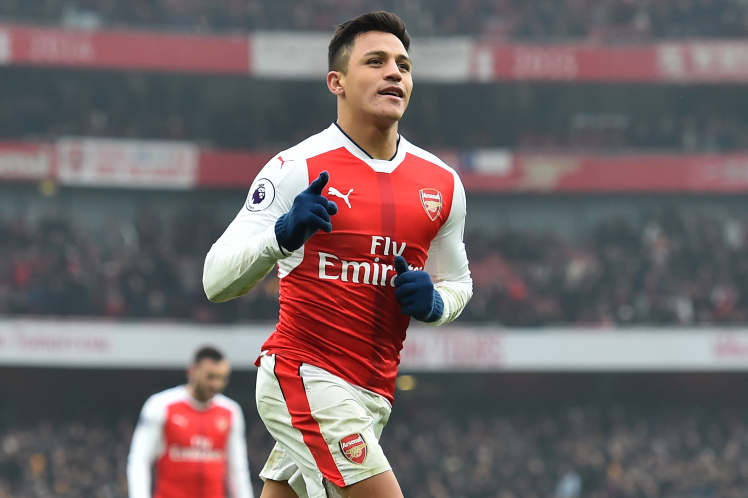 Alexis Sanchez out for 2 weeks