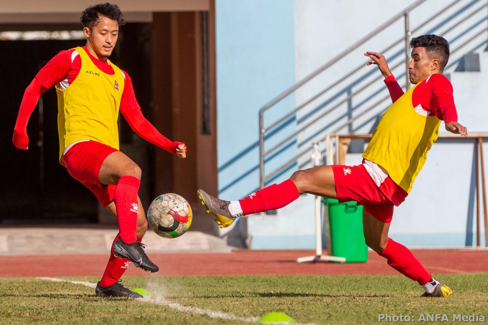 Nepal vs Bangladesh : International Friendly Football