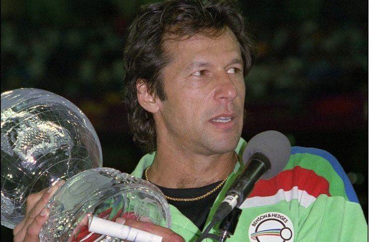 Pakistan greatest cricketer Imran Khan