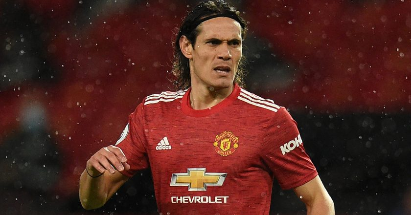 Solskjaer wants Cavani to extend his Old Trafford stay