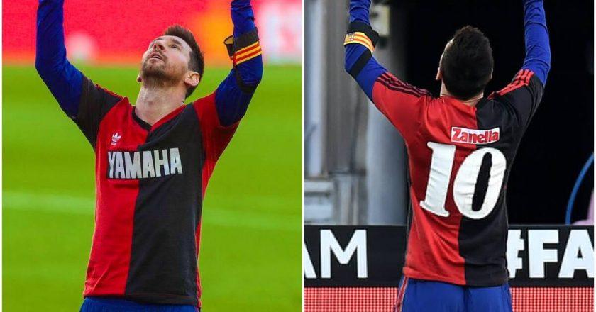 Messi pays tribute to Maradona in Barcelona win