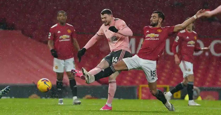 Man Utd lose to Sheffield United