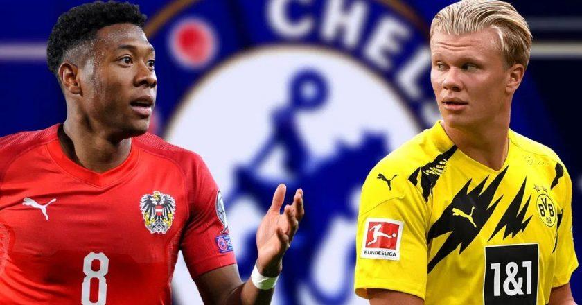 Chelsea chasing Haaland and David Alaba