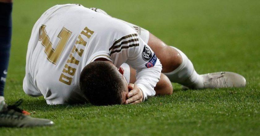 Hazard injured again