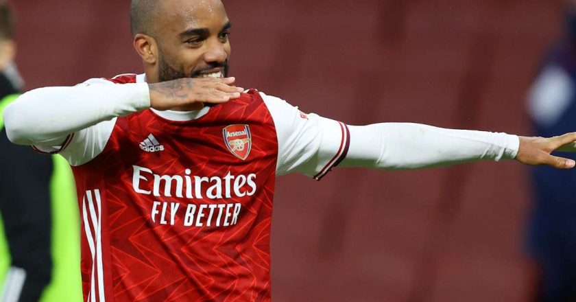 Lacazette penalty seals win for Arsenal in NLD