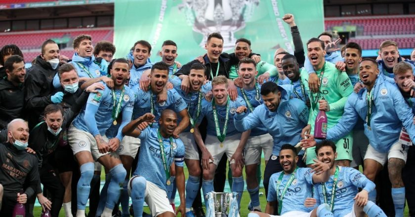 Manchester City beat Tottenham to win Carabao Cup