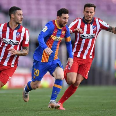Barcelona and Atletico share spoils