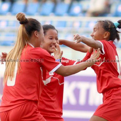 Nepal beat Bangladesh; Sabita, Preeti strike on debut