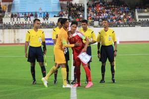 नेपाल र भारतको बिचको खेल गोलरहित बराबरीमा तुङियो