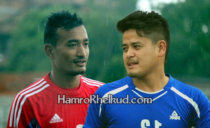 Biraj Maharjan and Sandip Rai