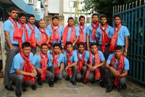 मलेसिया जांदै युवा क्रिकेट टिम