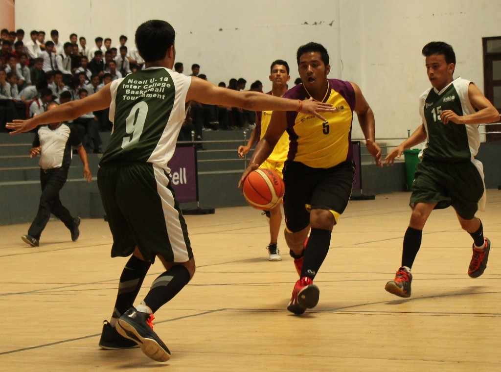 एनसेल यु–१८ अन्तरकलेज बास्केटबल प्रतियोगिता