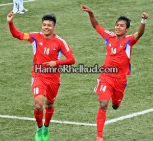 Bimal Gharti Magar and ANjan Bista