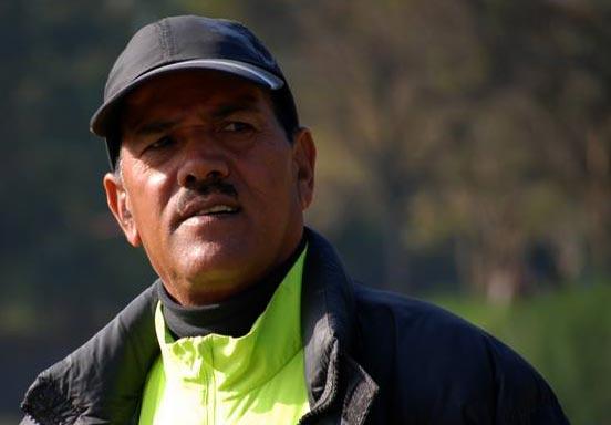 Coach Krishna Thapa