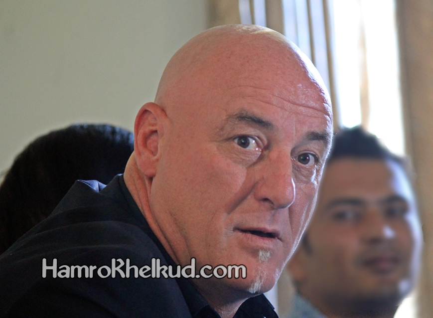 Nepali Coach Patrick Aussems