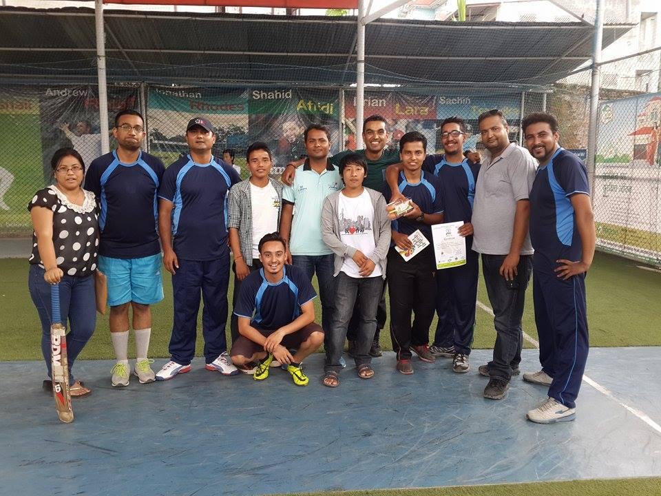 रोयल स्ट्याग कर्पोरट क्रिकेटमा एनएसजेएफ विजयी