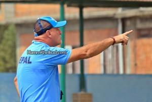 Nepal Coach Patrick Aussems