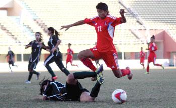 नेपाल कप महिला आमन्त्रण फुटबल असोज ३ देखि पोखरामा,