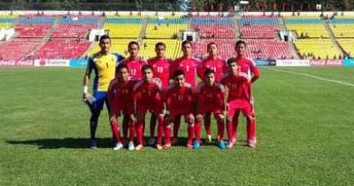 Nepal U16 team Jordan