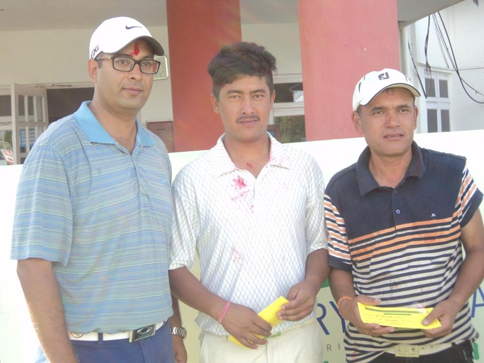 Nischal Bikas and Shiva, Nepal Golfers