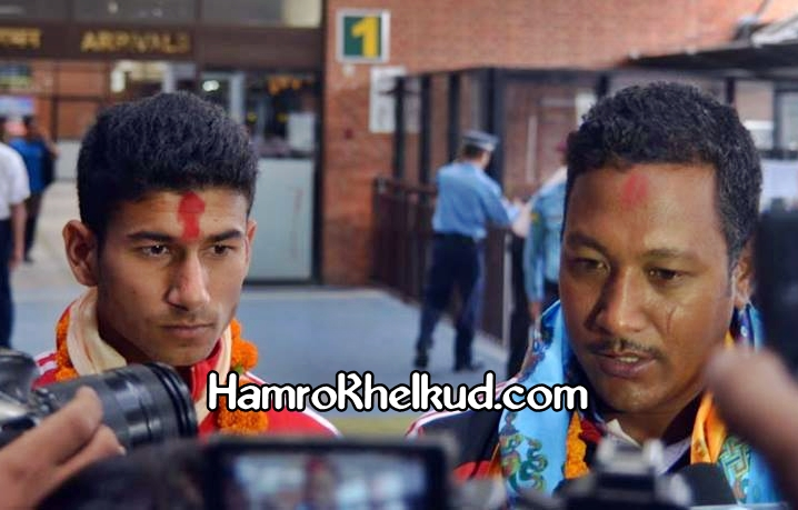 Upendra Man SIngh and Manish Karku U16