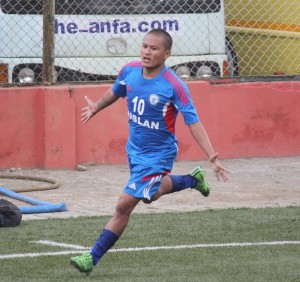 jagajeet celebrates against manang