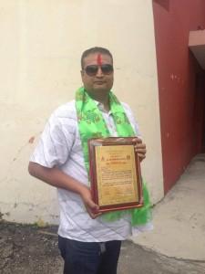 Mahesh Acharya NSJF's general secretary