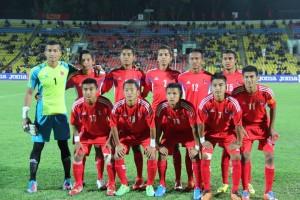 nepali u-16 football team