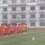 Nepali national team training