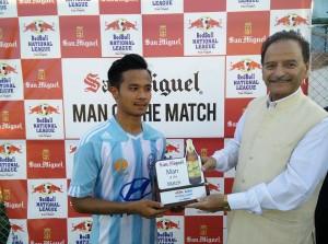 Bisal Rai Man of the Match