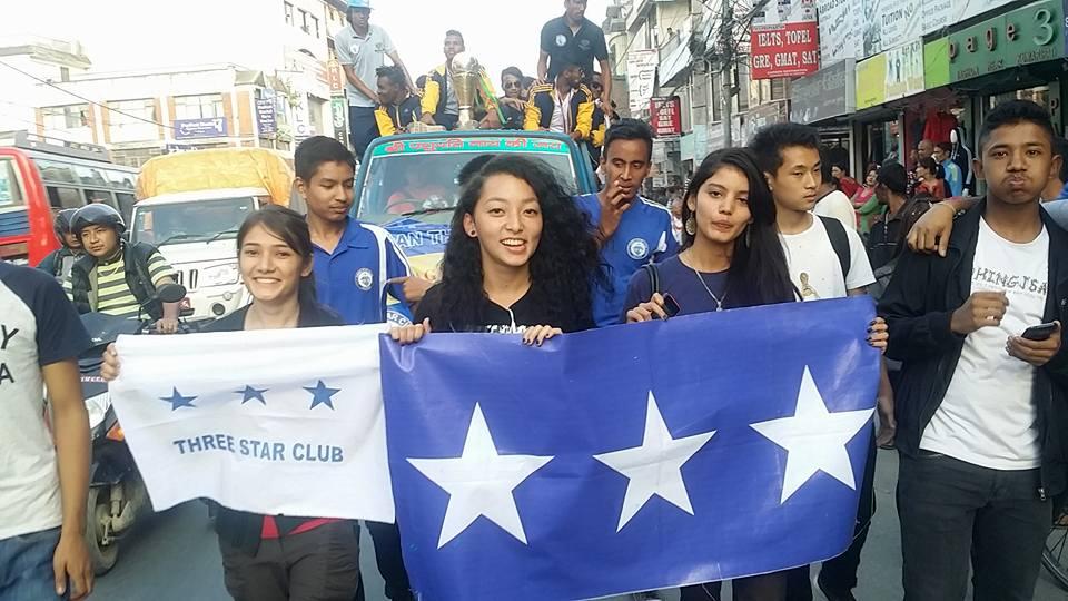 Three Star Club Bijaya Rally League Champion (1)