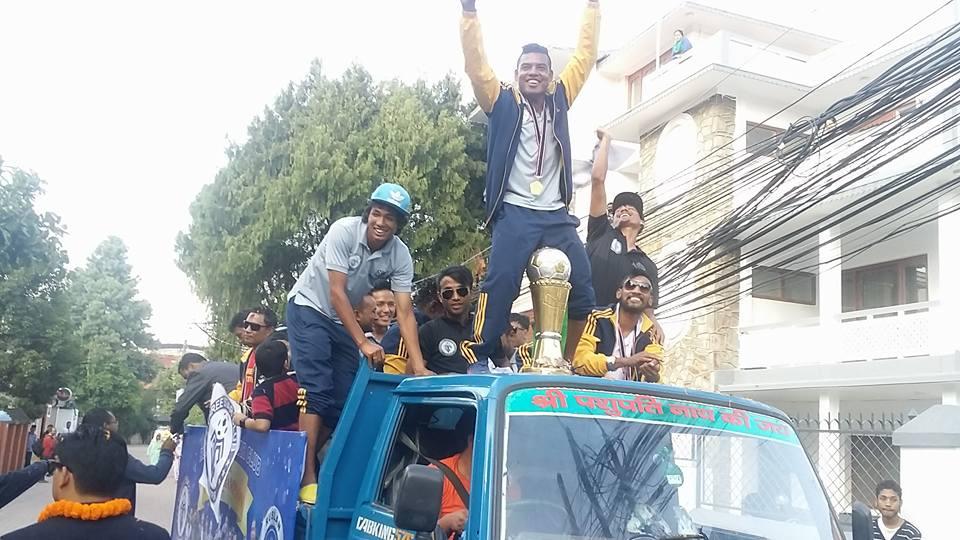 Three Star Club Bijaya Rally League Champion (2)