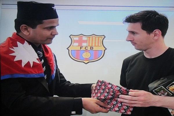 Messi Nepali Dhaka Topi