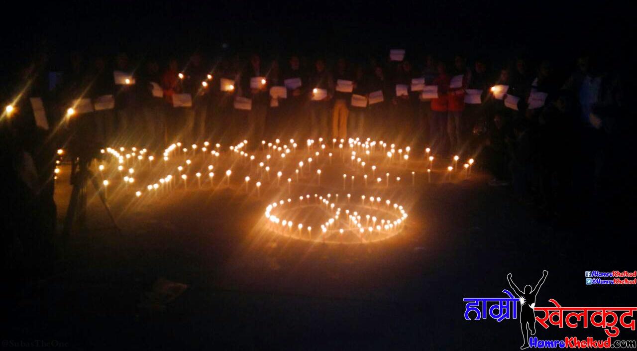 NSJF Candle Light vigil