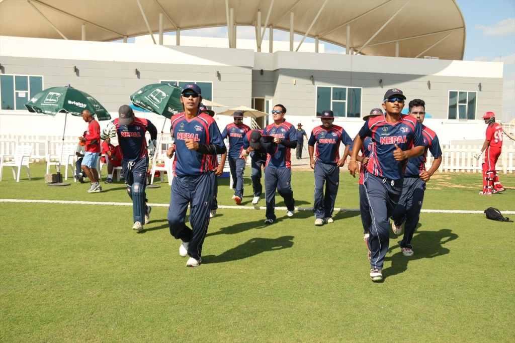 Nepal Cricket Team vs Oman (1)