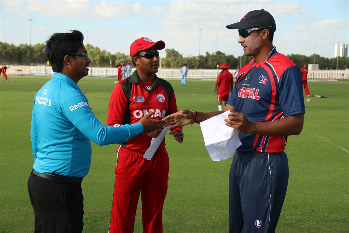 Nepal Cricket Team vs Oman (11)
