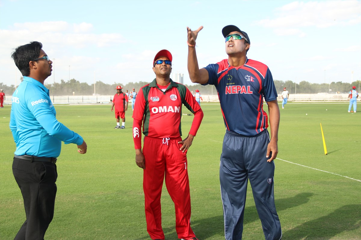 Nepal Cricket Team vs Oman (12)