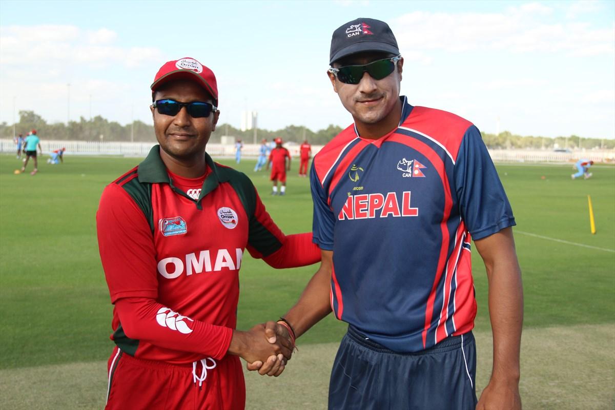 Nepal Cricket Team vs Oman (13)