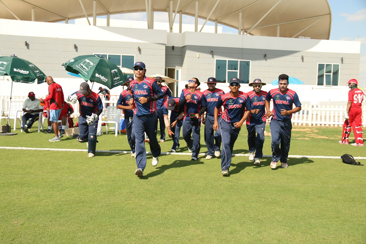Nepal Cricket Team vs Oman (14)