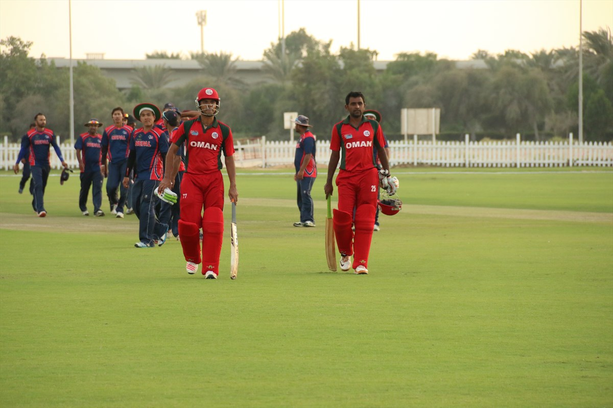 Nepal Cricket Team vs Oman (3)