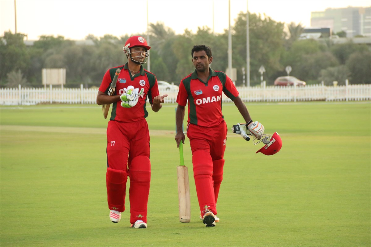 Nepal Cricket Team vs Oman (4)