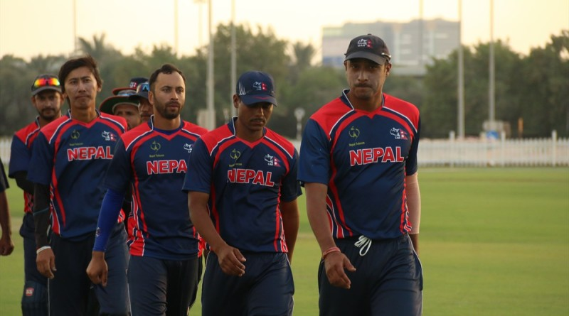 Nepal Cricket Team vs Oman (5)