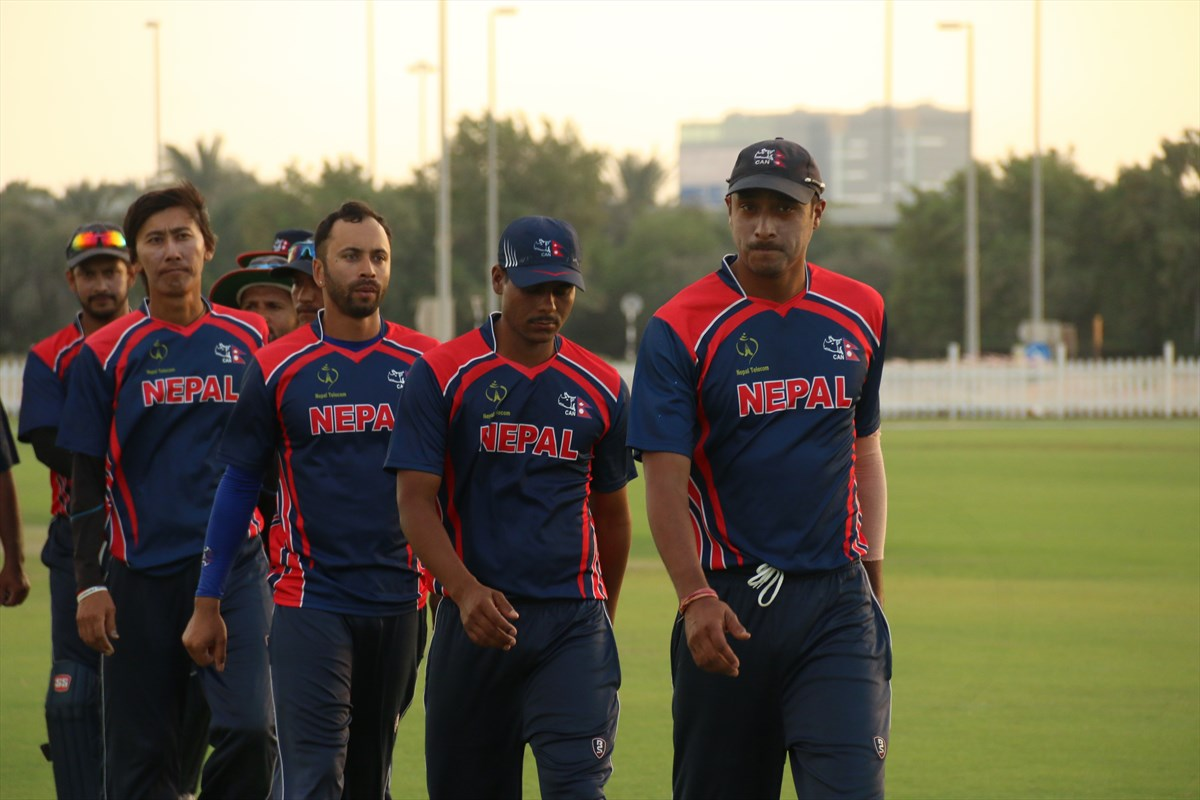 Nepal Cricket Team vs Oman (5)