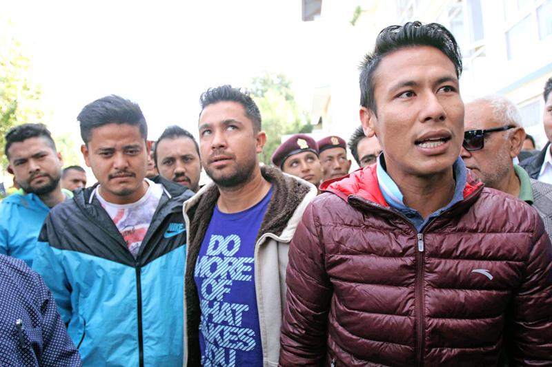 Suspended skipper Sagar Thapa