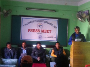 first pakhar cup football tournament
