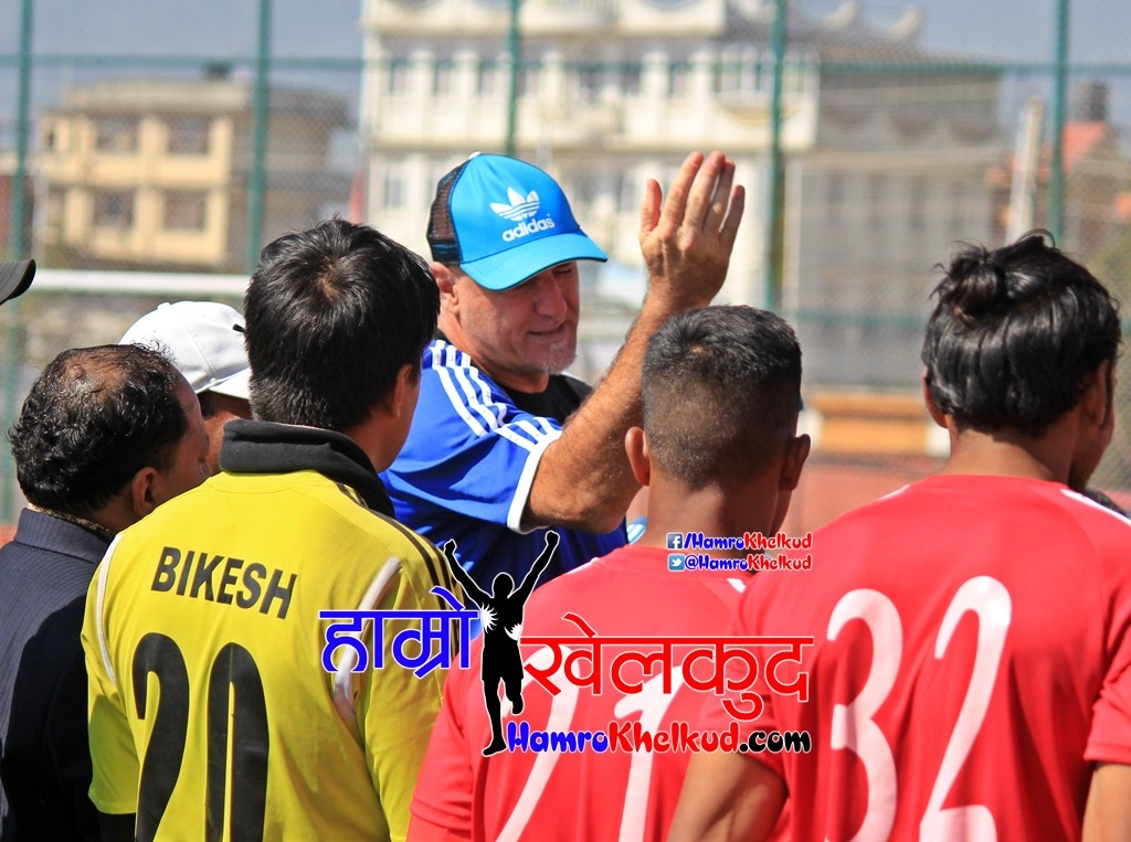 Nepal Football Head COach Patrick Aussems