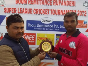 Boom remattance Cricket league